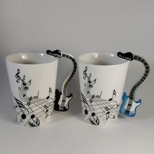 Electric Guitar Music Lover Mugs